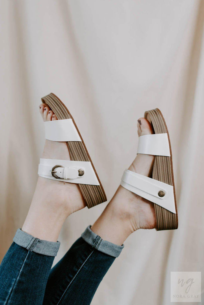 Blowfish Coconut Dyecut Sandal-Nora Gray Boutique