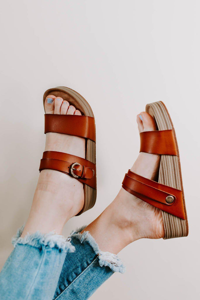 Blowfish Marge Sandals in Scotch-Nora Gray Boutique