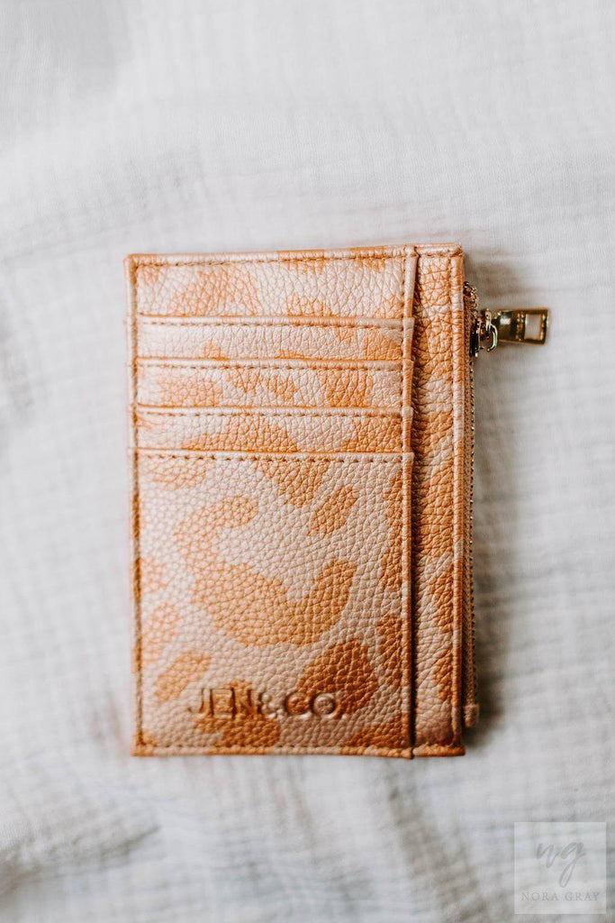 Sia Wallet in - Cheetah Rose-Nora Gray Boutique
