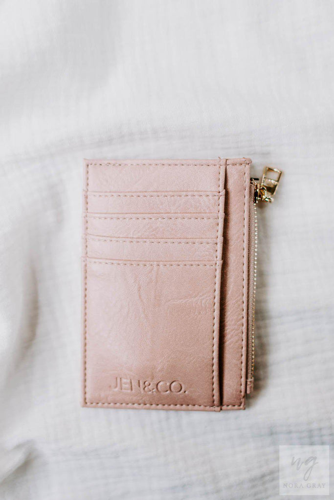 Sia Wallet in - Pink-Nora Gray Boutique