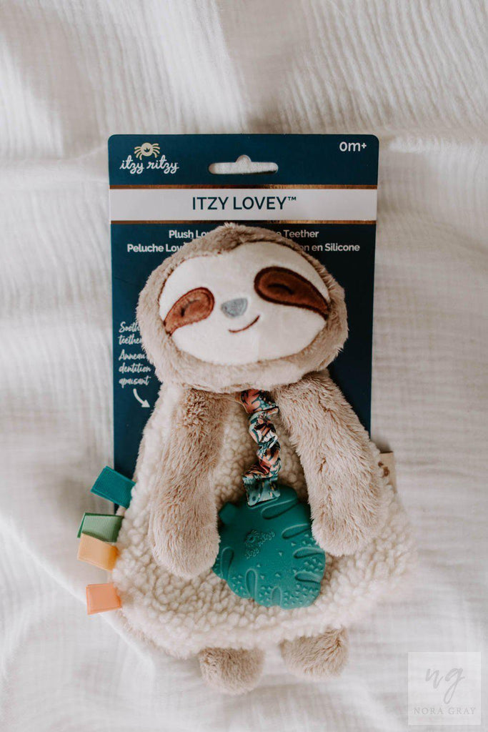 Sloth Plush Lovey-Nora Gray Boutique