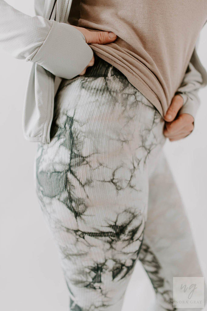 Tie Dye Leisure Leggings-Nora Gray Boutique