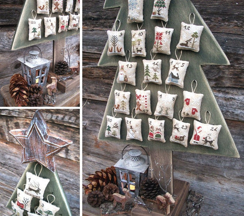 Advent Calendar from The Little Stitcher on Etsy