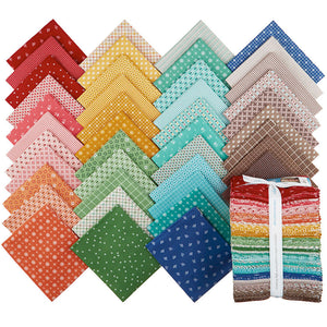 LORI HOLT PRIM FAT QUARTER BUNDLE from Riley Blake Designs, Toad Hollow Fabrics
