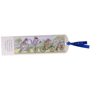 SET OF 6 BOOKMARKS from Woodfield Press Toad Hollow Paper