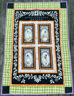 WELCOME WITCHES QUILT KIT, Toad Hollow Fabrics