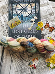 THE LOST GIRLS OF PARIS Hand Dyed Yarn, Toad Hollow Yarns