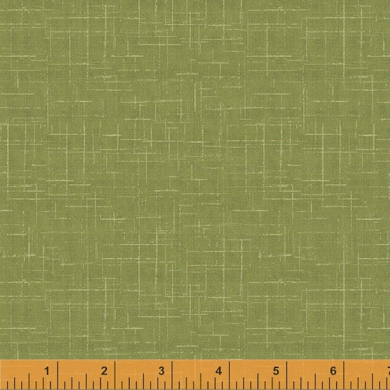 STARGAZER - Green Neutral, by Whistler Studios, 100% Cotton, Toad Hollow Fabrics
