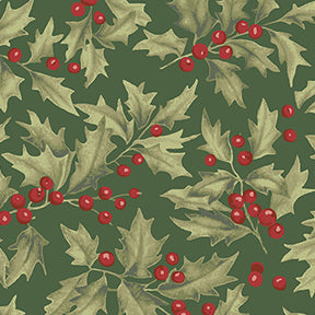 HOLLY in Forest from the Let Nature Sing Line, Toad Hollow Fabrics