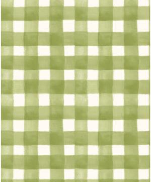 GREEN PLAID from the Spellcasters Garden Fabric Line, Toad Hollow Fabrics