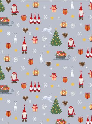 TOMTEN'S CHRISTMAS, Toad Hollow Fabrics