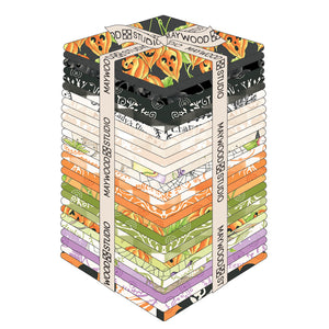FAT QUARTER BUNDLE for the Spellcasters Garden Fabric Line, Toad Hollow Fabrics