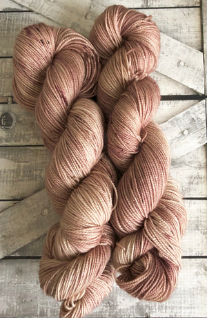 I'M NOT REALLY LEFT HANDED, The Princess Bride Hand Dyed Superwash Merino Yarn,Toad Hollow Yarns