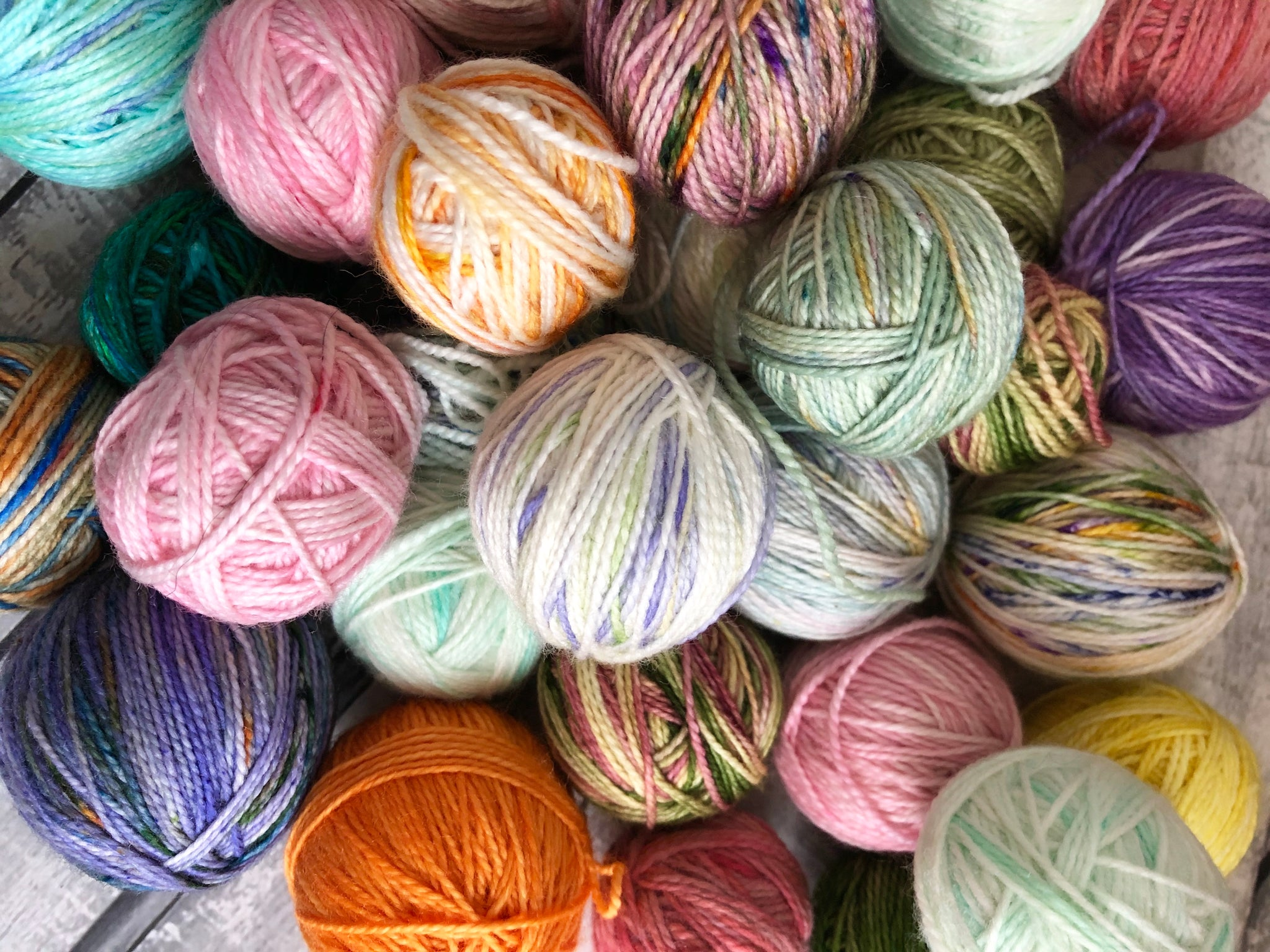 Grab Bag of Blurbs, Mini Skein