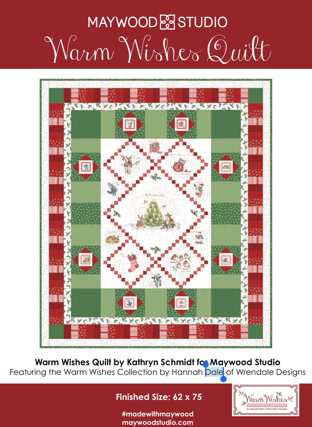 WARM WISHES QUILT KIT, Toad Hollow Fabrics