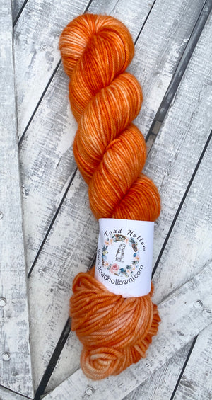 CARROT - from our Harry Potter Bertie Bott's collection, Toad Hollow Yarns