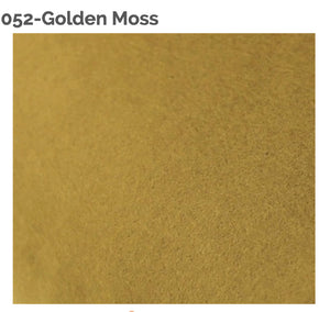 GOLDEN MOSS - 100% Wool Felt from Barefoot Fibers, 8x12 sheet, Toad Hollow Fabrics