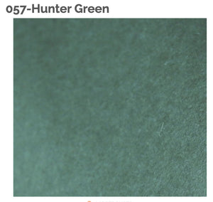 HUNTER GREEN - 100% Wool Felt from Barefoot Fibers, 8x12 sheet, Toad Hollow Fabrics