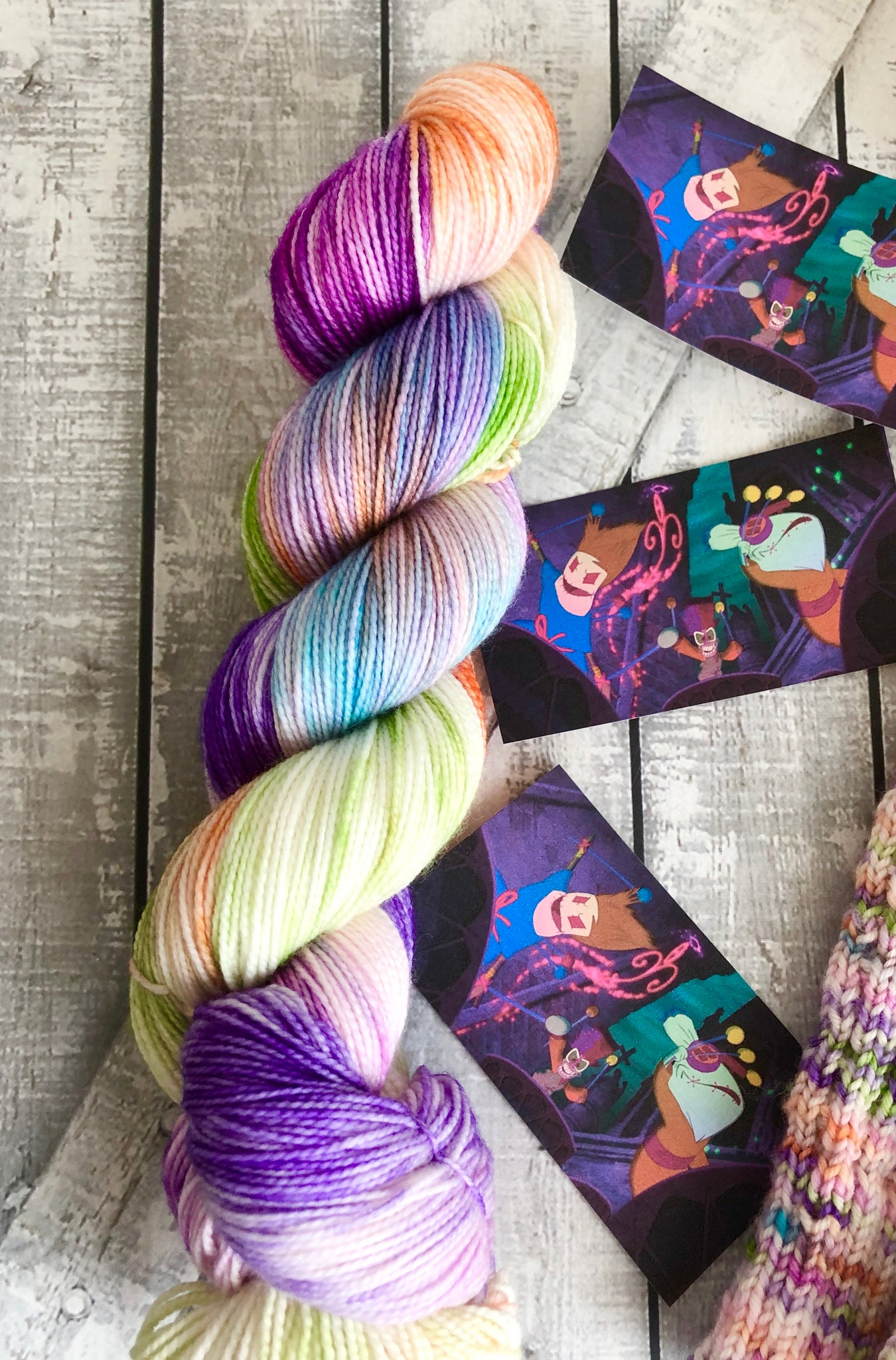 VOODOO from our Toad Hollow Fairy Tale collection, The Princess and the Frog Toad Hollow Yarns