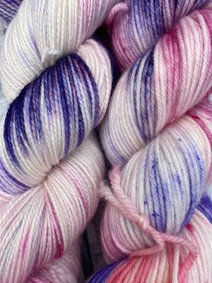 WHEN THERE ARE NINE - Ruth Bader Ginsberg inspired hand dyed yarn, Toad Hollow Yarns