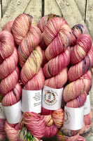 LADY DEFIANCE  from the BOHO collection Hand Dyed Yarn,Toad Hollow Yarns