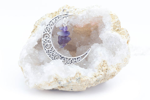 Mystical Crescent Moon Pendant