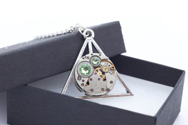 Clockwork Hallows Pendant