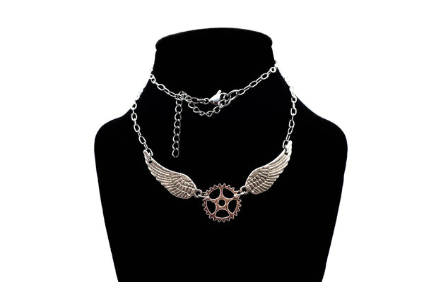 Winged Steampunk Choker