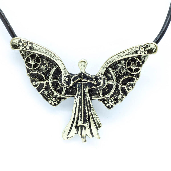 Clockwork Angel Necklace
