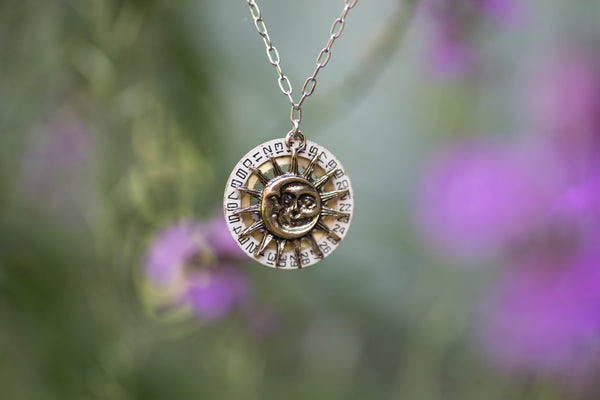 Moondial Necklace