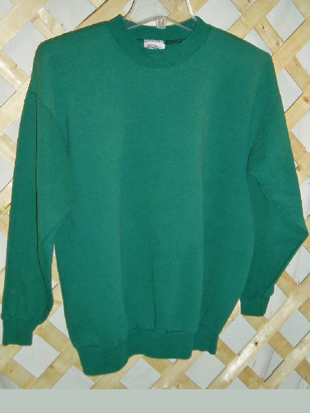 Hanes Green Sweatshirt - Men's Medium