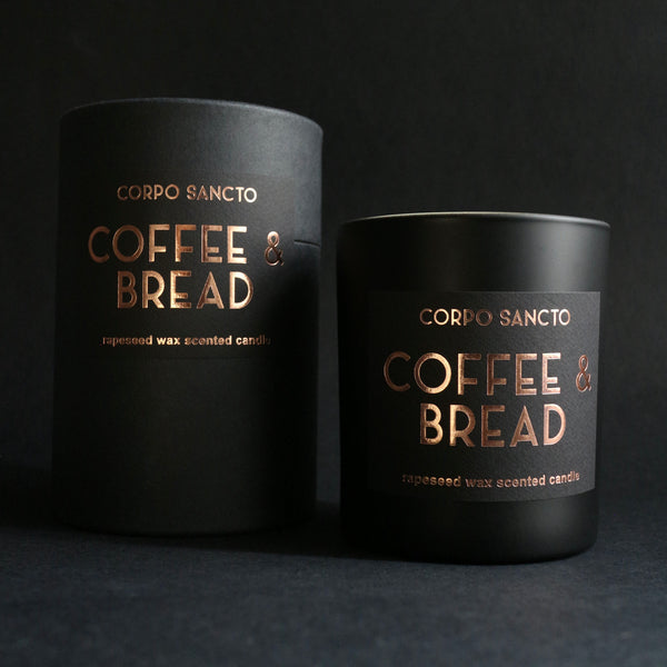 Coffee & Bread - Rapeseed Wax & Wood Wick Scented Candle