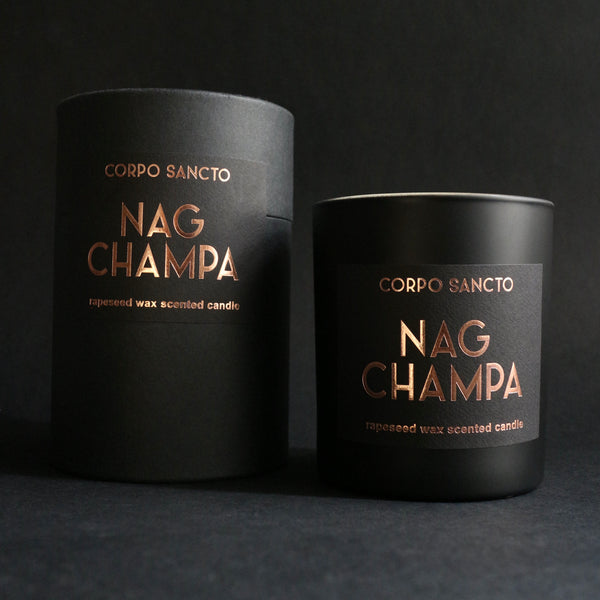 Nag Champa - Rapeseed Wax Scented Candle