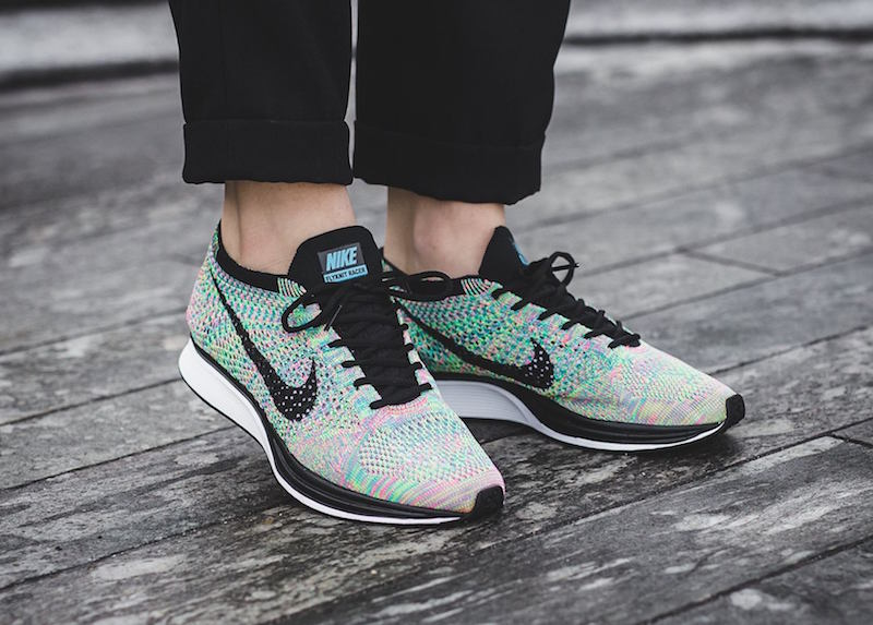 The Nike Flyknit Racer 2.0 is restocking this week!