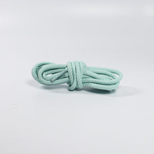 "47"" - 120cm Sea Foam Blue/White - Rope Laces"
