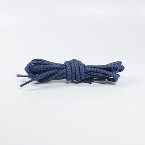 "47"" - 120cm Obsidian/Binary Blue - Rope Laces"