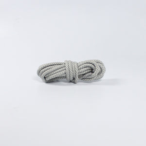 "47"" - 120cm White/Light-Grey - Rope Laces"