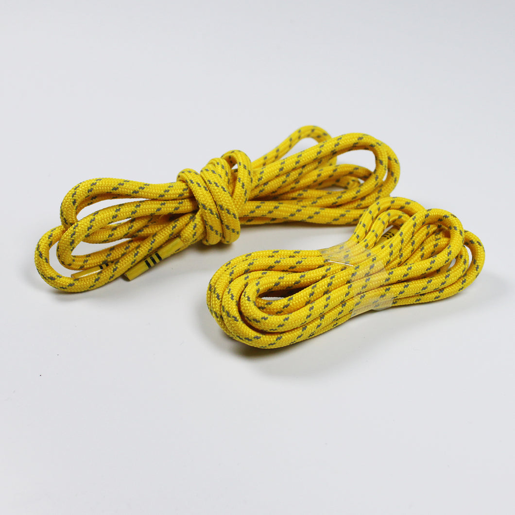 Adidas 47 inch yellow reflective Human Race Rope Shoelaces