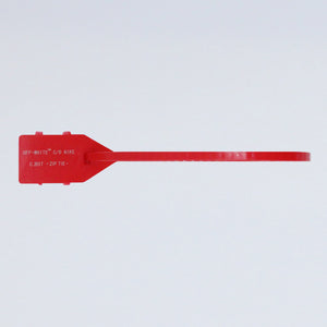Off-White Tie Strip - Red