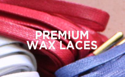 51 and 60 inches Premium Wax Shoelaces