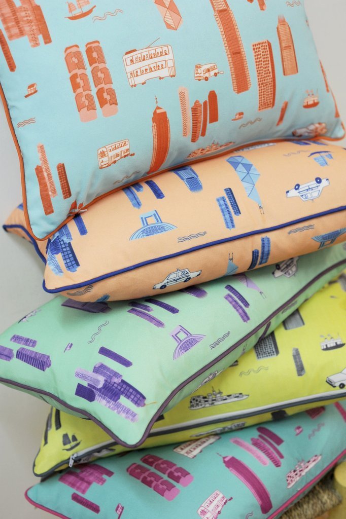 HK City - Rectangular Cushions