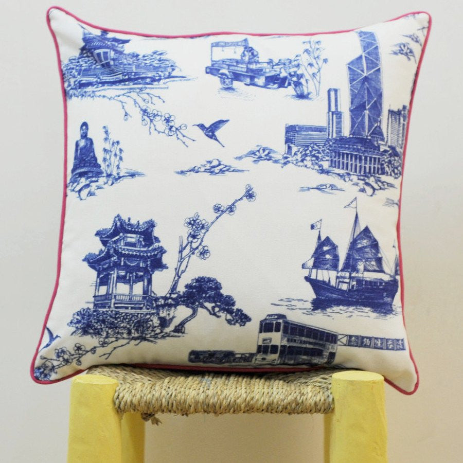 Cushion - Royal Blue