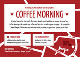 Coffee Morning Invitation Cards (A6)