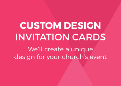 Custom Design Invitation Cards (A6)
