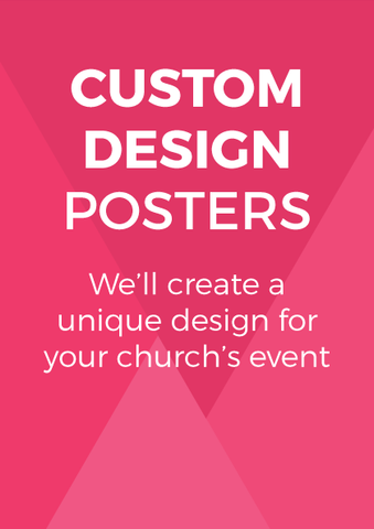 Custom Design Laminated Event Posters