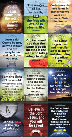 Set of 12 Gospel Posters
