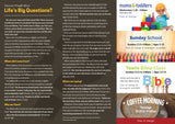 'Life's Big Questions' - Evangelistic Leaflet