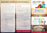 'Why bother with Jesus this Christmas?' - Christmas Evangelistic Leaflet