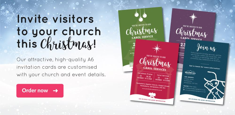 Invite visitors to your church this Christmas