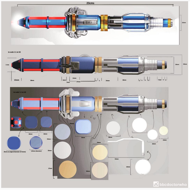 Does the twelfth doctor's sonic screwdriver have a 'Red Setting'?